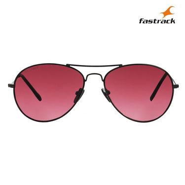 Fastrack 100% UV Protection Sunglasses For Men_M135rd3 - Pink