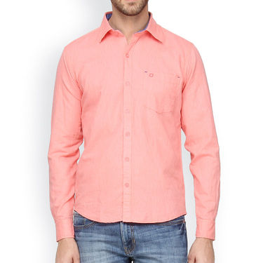 Crosscreek Cotton Casual Shirt_1180314 - Pink