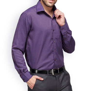 Copperline Cotton Rich Formal Shirt_CPL1144 - Red