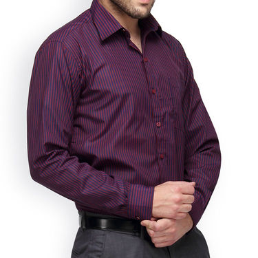 Copperline Cotton Rich Formal Shirt_CPL1162 - Red