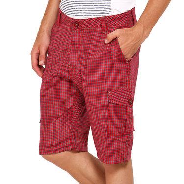 Wajbee Cotton Cargo Short For Men_Wma102 - Multicolor