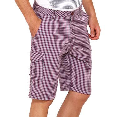 Wajbee Cotton Cargo Short For Men_Wma111 - Multicolor