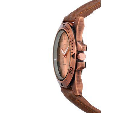 Rico Sordi Analog Round Dial Watch For Men_Rsmwl70 - Golden