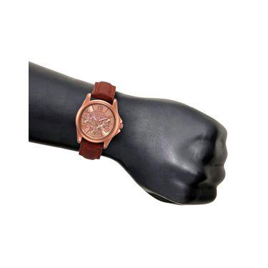 Rico Sordi Analog Round Dial Watch For Men_Rsmwl74 - Golden