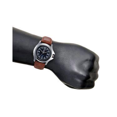 Rico Sordi Analog Round Dial Watch For Men_Rsmwl76 - Black