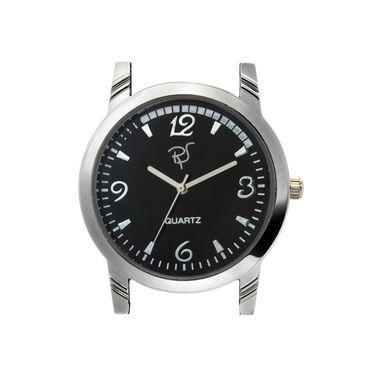 Rico Sordi Analog Round Dial Watch For Men_Rsmwl80 - Black