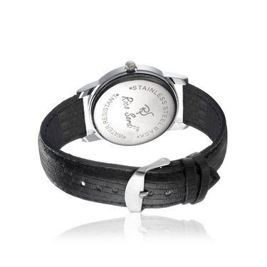 Rico Sordi Analog Round Dial Watch For Men_Rsmwl85 - Black