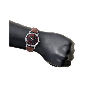 Rico Sordi Analog Round Dial Watch For Men_Rsmwl92 - Black