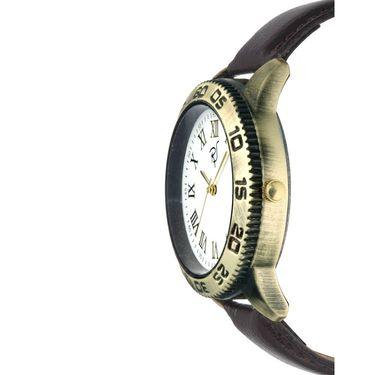 Rico Sordi Analog Round Dial Watch For Men_Rsmwl95 - White