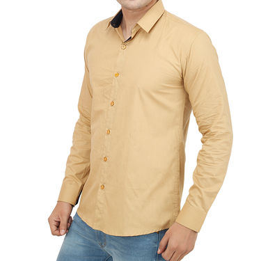 Branded Casual Shirt For Men_Bgep016 - Beige