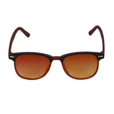 Swiss Design Wayfarer Plastic Sunglass For Unisex_S18276mrn - Olive