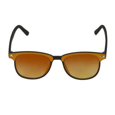 Swiss Design Wayfarer Plastic Sunglass For Unisex_S18276ylbk - Yellow