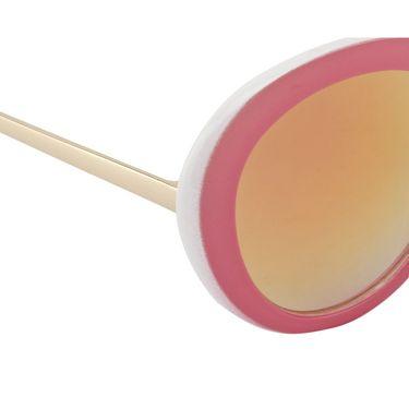 Swiss Design Full Rim Plastic Sunglass For Unisex_S8012pk - Mercury Yellow
