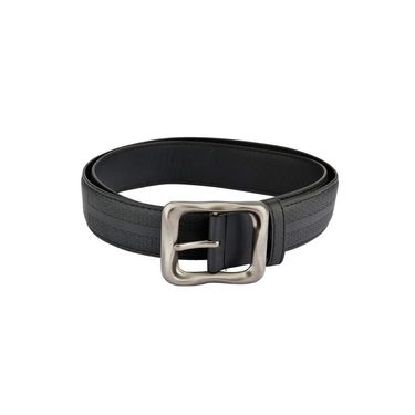 Mango People Leatherite Casual Belt For Men_Mp104bk - Black