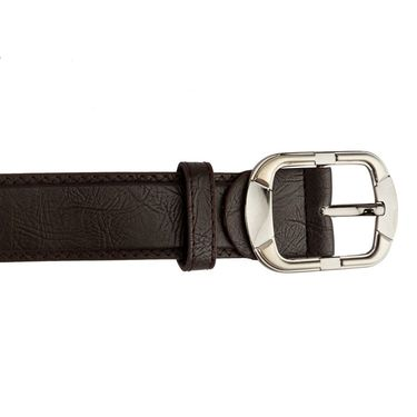 Mango People Leatherite Casual Belt For Men_Mp109br - Brown