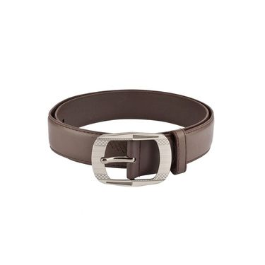 Mango People Leatherite Casual Belt For Men_Mp121br - Brown