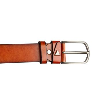 Swiss Design Leatherite Casual Belt For Men_Sd03tn - Tan