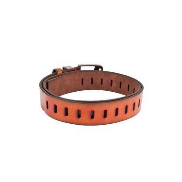 Swiss Design Leatherite Casual Belt For Men_Sd04tn - Tan