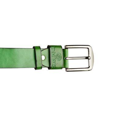 Swiss Design Leatherite Casual Belt For Men_Sd05gr - Green