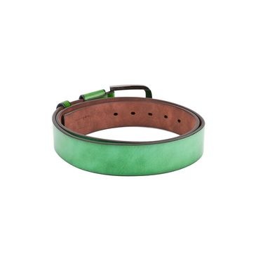 Swiss Design Leatherite Casual Belt For Men_Sd08gr - Green
