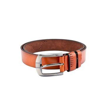 Swiss Design Leatherite Casual Belt For Men_Sd101tn - Tan