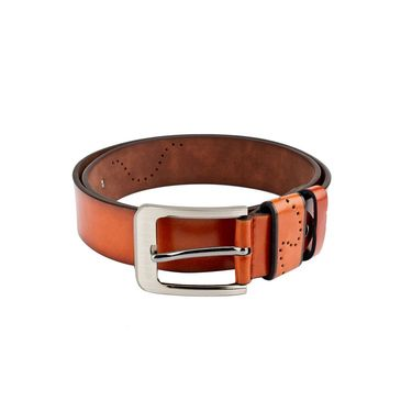 Swiss Design Leatherite Casual Belt For Men_Sd114tn - Tan