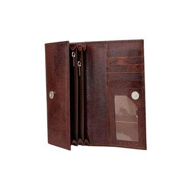 Swiss Design Stylish Wallet For Men_Sdtw12690br - Brown