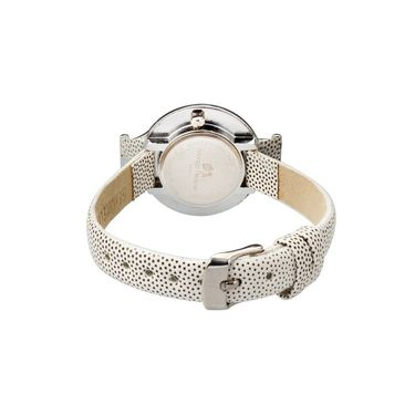 Mango People Round Dial Watch For Women_MP001WH01 - White