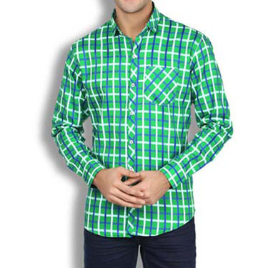 Brohood Slim Fit Full Sleeve Cotton Shirt For Men_A50122 - Multicolor