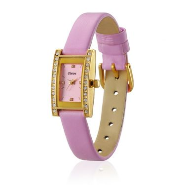 Oleva Analog Wrist Watch For Women_Olw5gp - Gold & Pink