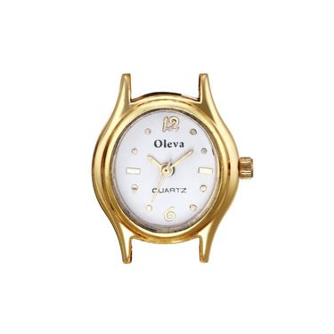 Oleva Analog Wrist Watch For Women_Opw1b - White