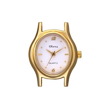Oleva Analog Wrist Watch For Women_Opw91 - White