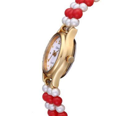 Oleva Analog Wrist Watch For Women_Opw99 - White