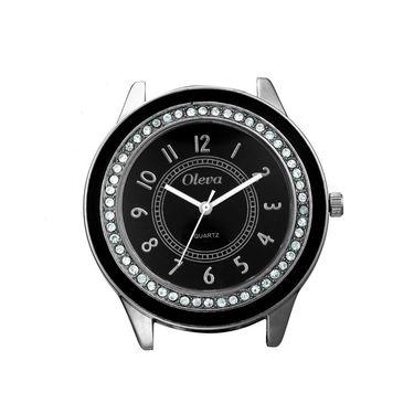 Oleva Analog Wrist Watch For Women_Osw1b - Black