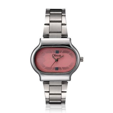 Oleva Analog Wrist Watch For Women_Osw15p - Pink