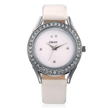 Combo of 3 Oleva Analog Wrist Watches For Women_Ovd175