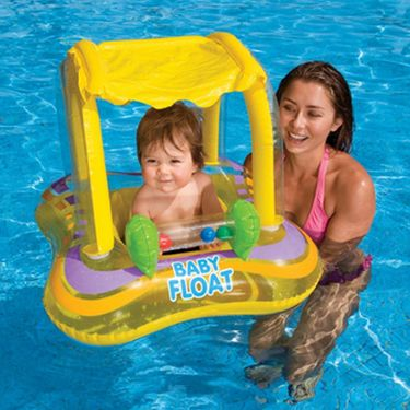 Intex Baby Kiddie Pool - Jeep Shape Shaded Canopy