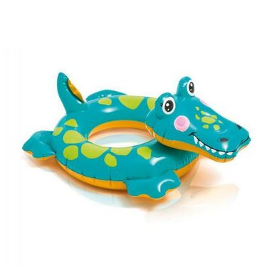 Intex Crocodile Shape Play and Swimming Ring - Ultimate Fun for your Kids