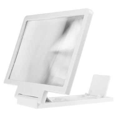 Shutterbugs 3D Enlarger Screen for Mobile Phones (White)