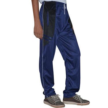 Delhi Seven Regular Fit Trackpant For Men_MU018  - Blue & Black