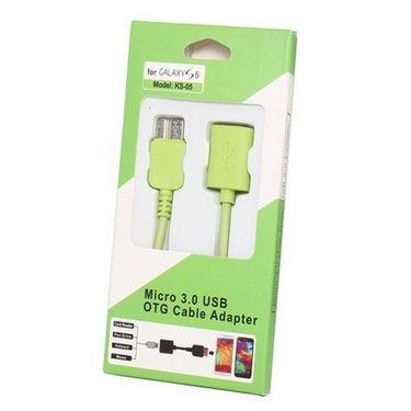 Flashmob Premium OTG Cable - Green