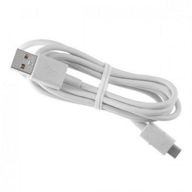 Flashmob Premium Data Transfer & Charging Cable - White