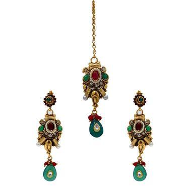 Spargz Alloy Metal Necklace Set_Ains005