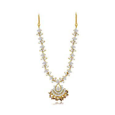 Spargz Brass Metal Necklace Set_Ains074