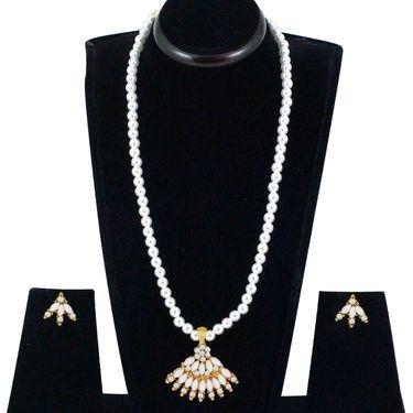 Spargz Alloy Metal Necklace Set_Ains116