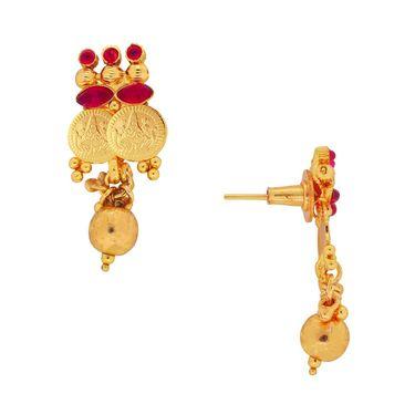 Spargz Brass Metal Necklace Set_Kns3008