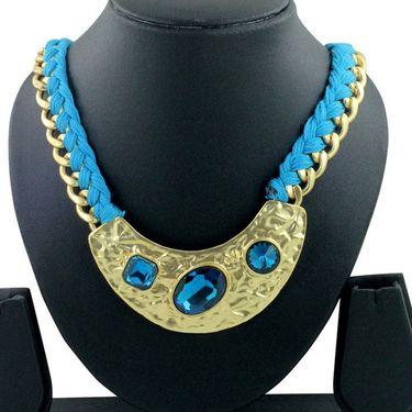 Spargz Alloy Metal Necklace_Mala059