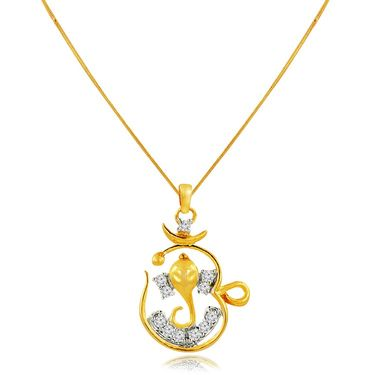 Spargz Brass Metal Pendant_Aip054