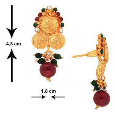 Spargz Brass Metal Pendant Set_Aips018