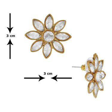 Spargz Brass Metal Earring_Aier380